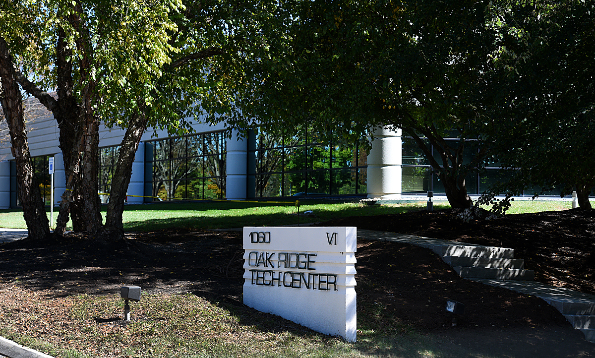 A nondescript office building being used by staff working on the Uranium Processing Facility near the Y-12 National Security Complex in Oak Ridge Wednesday, Oct. 7, 2015. The UPF is a multibillion dollar project under development at the Y-12 nuclear weapons plant. (MICHAEL PATRICK/NEWS SENTINEL)