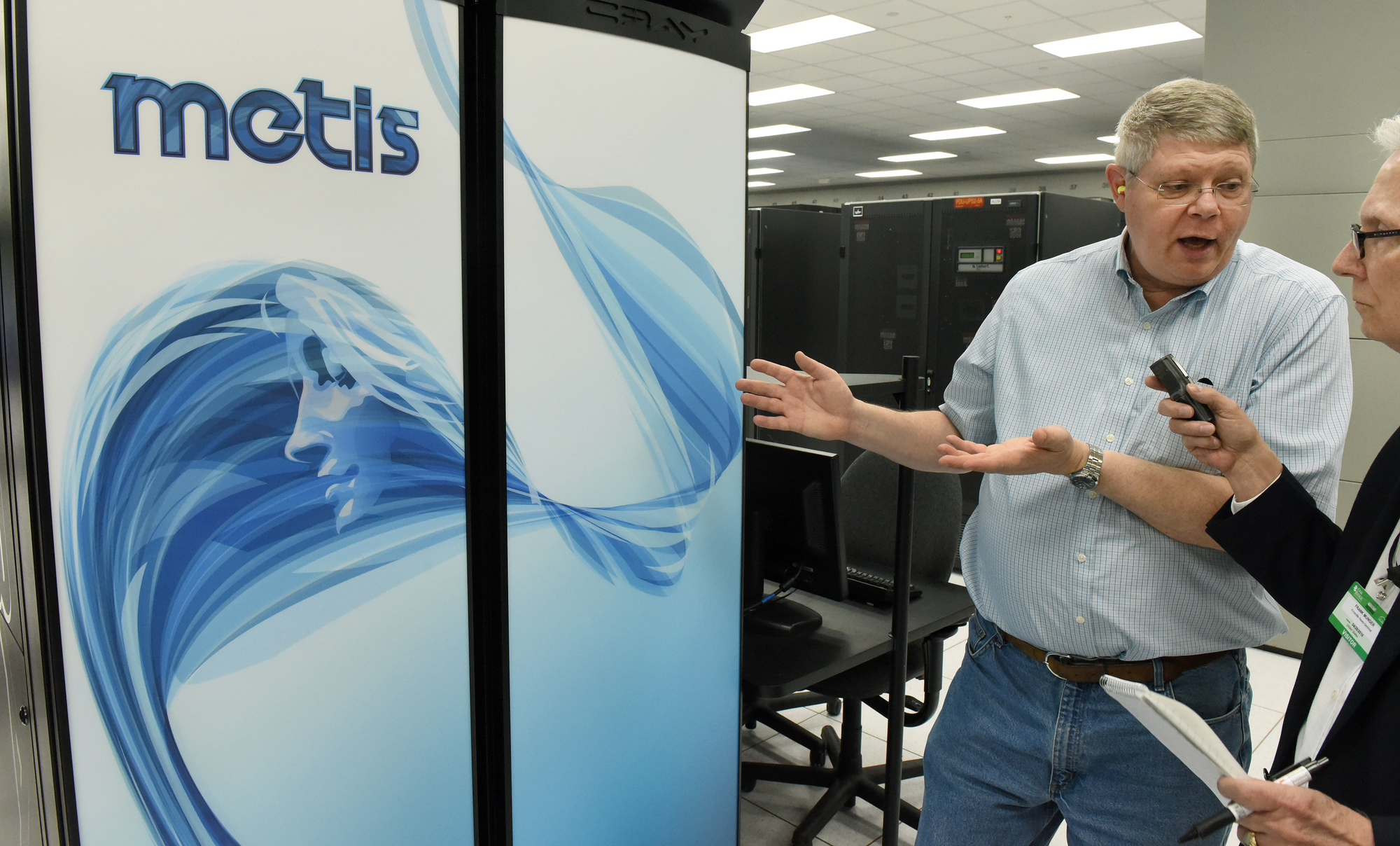 Buddy Bland, project director Summit Supercomputer Wednesday, April 20, 2016.  (MICHAEL PATRICK/NEWS SENTINEL)