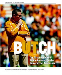 Butch Jones book produced by News Sentinel and UT journalism students.