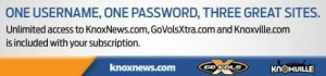 Knoxville News Sentinel ad urging readers to activate online accounts.