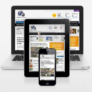 Scripps websites will use responsive design to optimize presentation on different platforms.