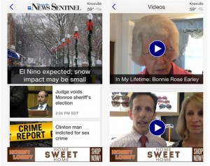 News Sentinel's new app for iPhone and iPad